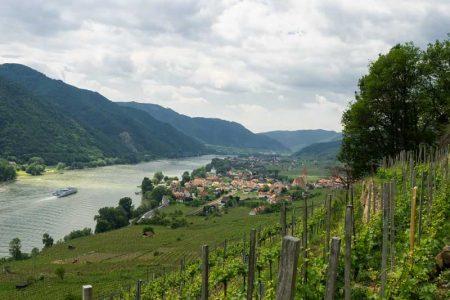 Wachau - Blick auf Weissenkirchen